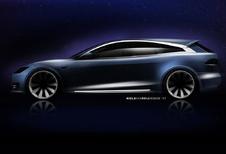 Er komt een Tesla Model S Shooting Brake