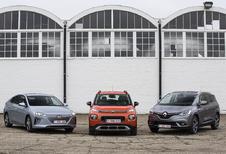 Citroën, Hyundai en Renault winnen de VAB-Gezinswagen van het Jaar 2018