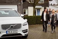 Des Volvo XC90 autonomes à des familles