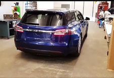 De  ene Tesla Model S Shooting Brake is de andere niet