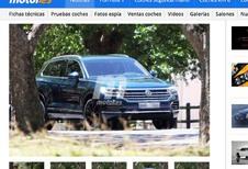 Volkswagen Touareg 2019 : le voici à nu !