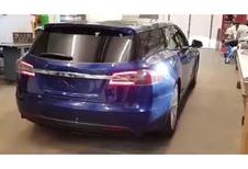 Tesla Model S ook als break?
