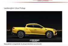Lamborghini Urus Pick-up : le vrai descendant du LM002