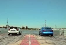 INSOLITE – Audi RS3 ou Mercedes A45 AMG : Qui accélère le plus fort ?