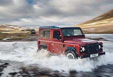 Land Rover Defender keert even terug met krachtige Works V8