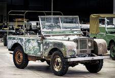 Restauration d'un des 3 tout premiers Land Rover