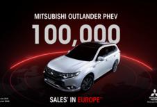Mitsubishi : 100.000 Outlander hybrides en Europe