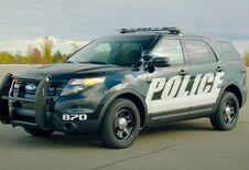 La voiture de police Ford autonome