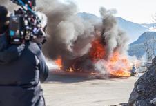 Alpine A110 : la proie des flammes dans Top Gear !