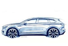 De nieuwe Volkswagen Touareg komt eraan