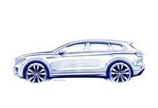 Volkswagen Touareg : teaser de la 3e génération