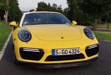 Porsche 911 Turbo S sneller dan verwacht op Nürburging