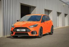 Ford Focus RS Heritage Edition: zwanenzang