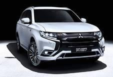 Nieuw frontje en nieuwe motor voor Mitsubishi Outlander PHEV