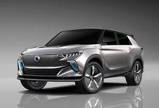Gims 2018 – SsangYong e-SIV: toekomstige elektrische SUV