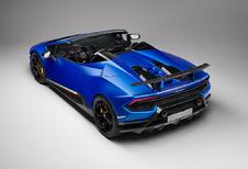 De wind door je haren met de Lamborghini Huracán Performante Spyder