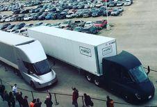Tesla : le camion effectue sa première livraison