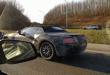 Bentley Continental GTC betrapt op de Brusselse Ring #1