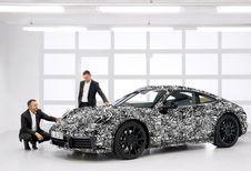 Porsche 911 hybride rechargeable : jusqu'à 700 ch !