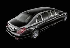 Vernieuwde Mercedes-Maybach Pullman nog luxueuzer, nog krachtiger