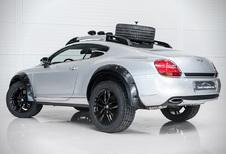 Bentley Bentayga lijkt een watje naast deze Continental GT Off Road