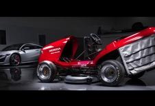 Honda : une nouvelle tondeuse de course... bientôt en piste !