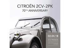 Autoworld viert 70 jaar Citroën 2PK
