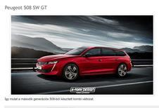 Peugeot 508 SW : vision d'artiste