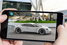 Porsche Mission E : chez vous en réalité augmentée
