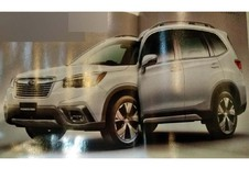 NYIAS  2018– Subaru : le Forester en fuite avant le salon de New York