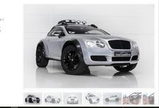 Une Bentley Continental GT pas comme les autres