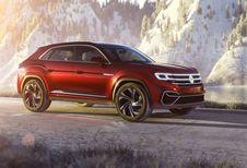 Amerikaanse Volkswagen Atlas als Cross Sport Concept