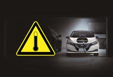 Nissan Leaf meerdere keren snelladen gaat… trager