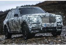 Rolls-Royce : le Cullinan arrive !