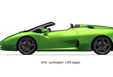 Lamborghini : la L595 Zagato Roadster se dévoile