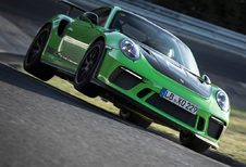 Groene gifkikker Porsche 911 GT3 RS knalt rond de Groene Hel in 6 min 56,4
