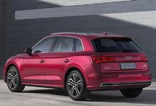 Verlengde Audi Q5L voor China