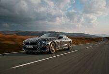 BMW Série 8 : tests dynamiques au Pays de Galles