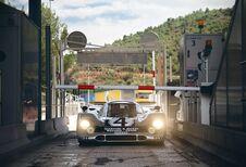 La Porsche 917 « en route »