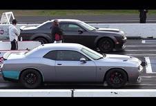 INSOLITE – Duel entre une Dodge Demon et une Hellcat