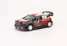In het klein: de rallyauto's van Sébastien Loeb