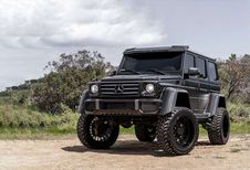 Mercedes G500 4X4² : Forgiato aux commandes