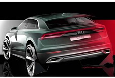 Aftellen voor de Audi Q8