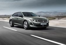 Peugeot 508 SW: break zonder raamkaders