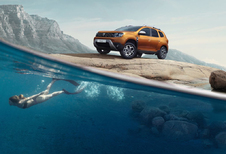 Dacia Duster voelt zich Blue