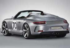 Porsche viert 70ste verjaardag met 911 Speedster
