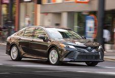 Toyota Camry komt Avensis vervangen in Europa