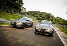 Alfa Romeo Giulia en Stelvio NRING: 108 jaar oud