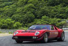 Lamborghini : seconde jeunesse pour l'unique Miura SVR