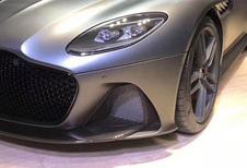 Aston Martin DBS Superleggera: foto uitgelekt